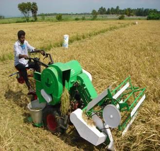 Farm Machinery :: Harvesting and Threshing machineries