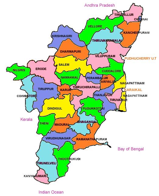 Tamil Nadu Weather Map TNAU Agritech Portal :: Weather Watch Group