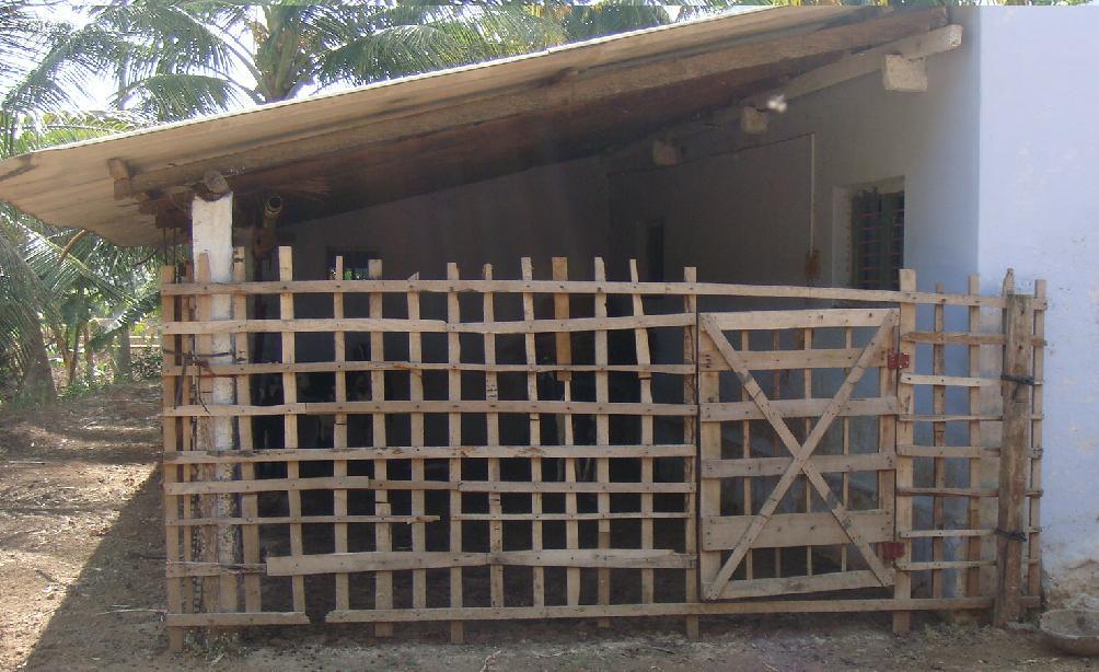 Goat house design in india