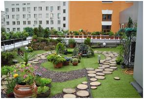 Beau Roof Top Restaurants, Recreational Roof Garden For Apartments